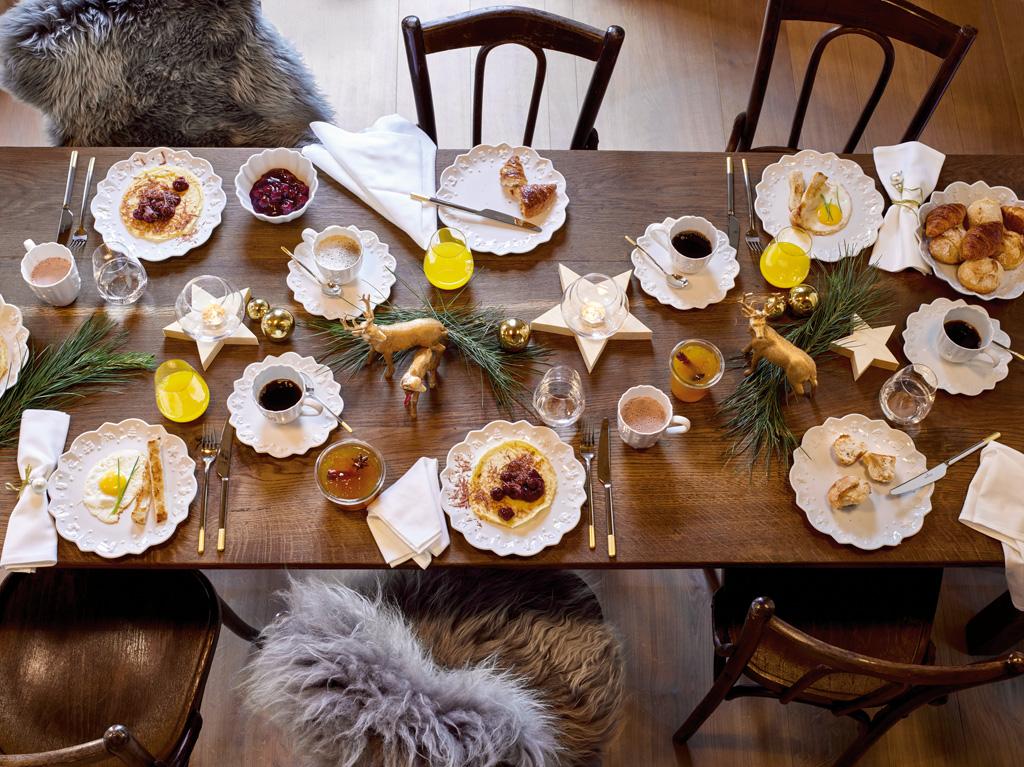 Viste tu mesa de Navidad con las vajillas de Villeroy & Boch