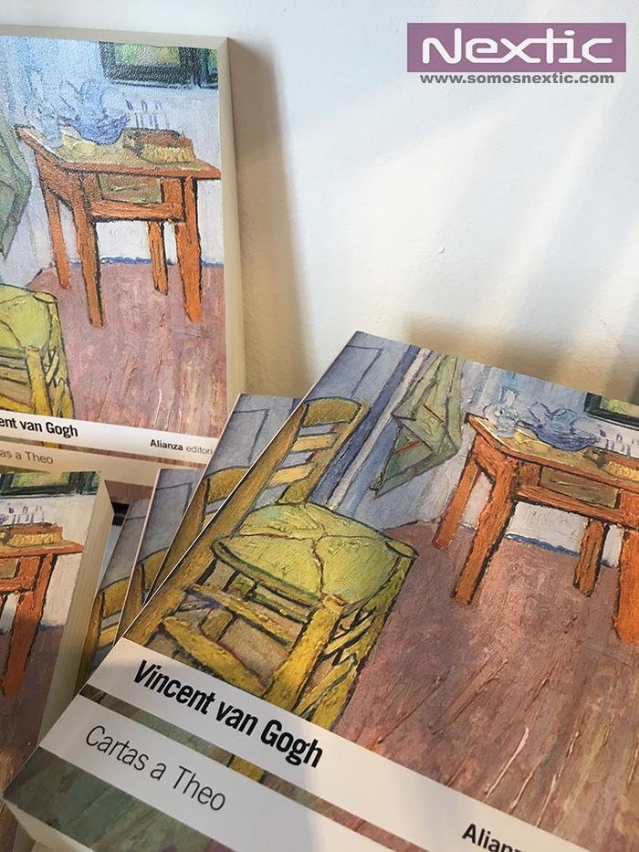 El libro Cartas a Theo recoge la correspondencia de Van Gogh con su hermano.