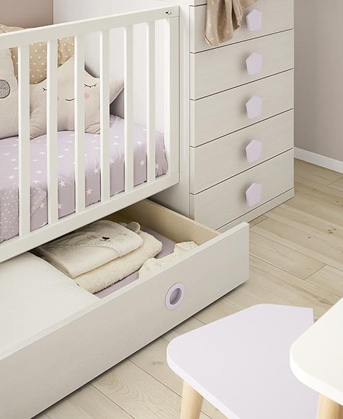 Habitación bebé. Orden en casa
