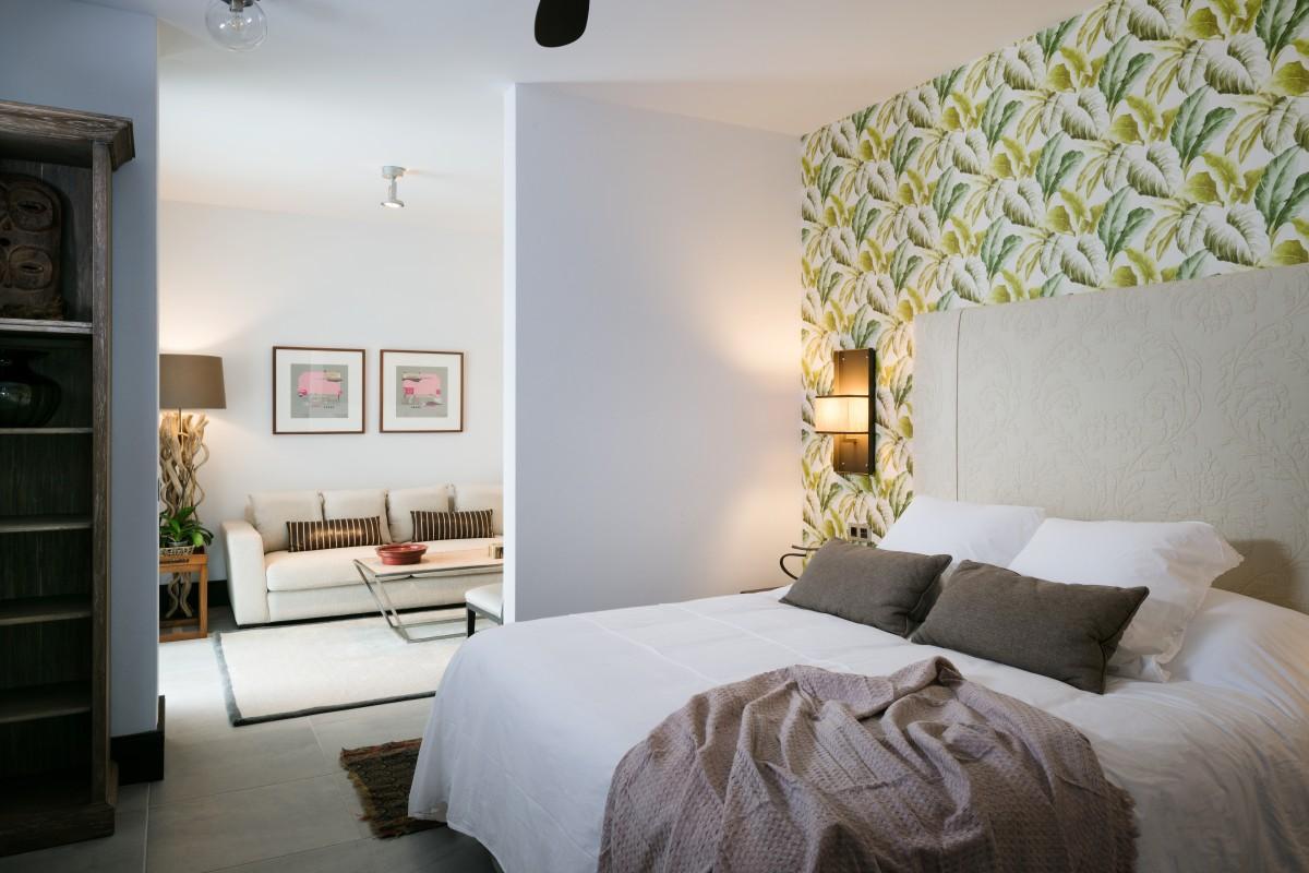 Todas las habitaciones del hotel 5 Suites se han cuidado al mínimo detalle.