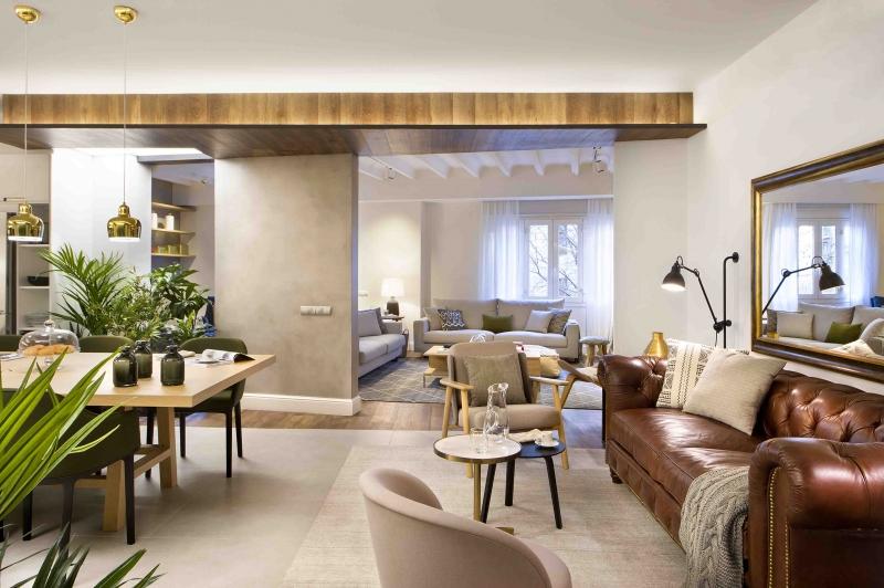Egue y Seta ha creado una vivienda estilo Urban Chic en Barcelona