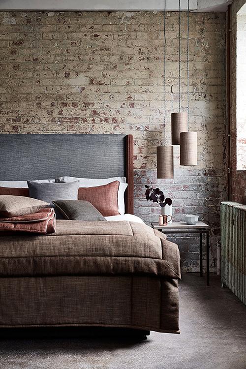 Ian Mankin Perth Bedroom