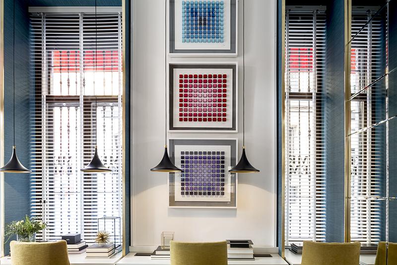 El estudio de Manuel Espejo en Madrid