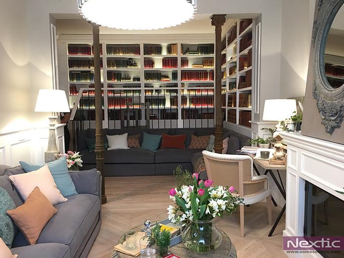 El Salón del Lector de Asun Antó para Coton et Bois en Casa Decor Madrid 2017