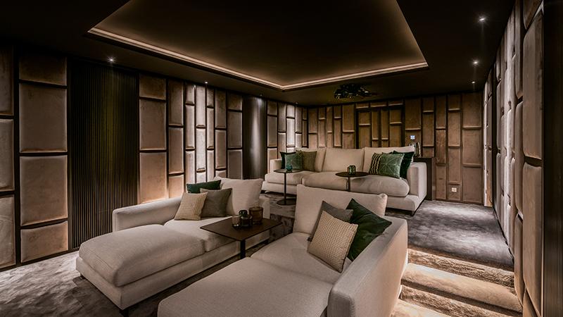 Villa Casablanca Sala de Cine 7