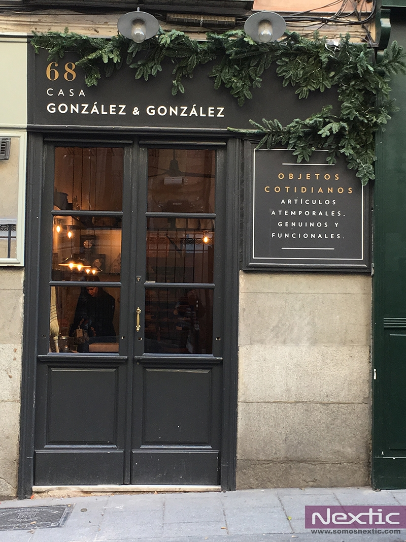 Fachada de Casa González & González